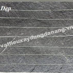 đá chẻ xanh đen 15x50cm