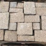 Đá Granite Vàng Đục Thô Đa Quy Cách