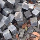 Đá Cubic Xanh Đen Vát Bìa Cạnh