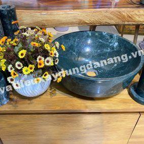 Bộ sản phẩm lavabo đá marble xanh napoli
