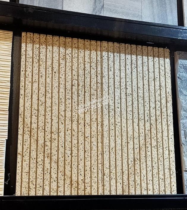 Đá granite băm vàng chạy rãnh kích thước 30x60x2cm