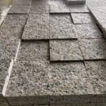 Đá Granite Vàng Nhạt Khò Lửa