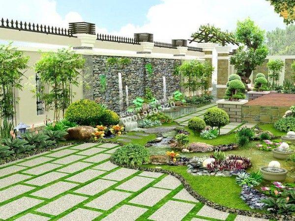 đá lát nền sân vườn