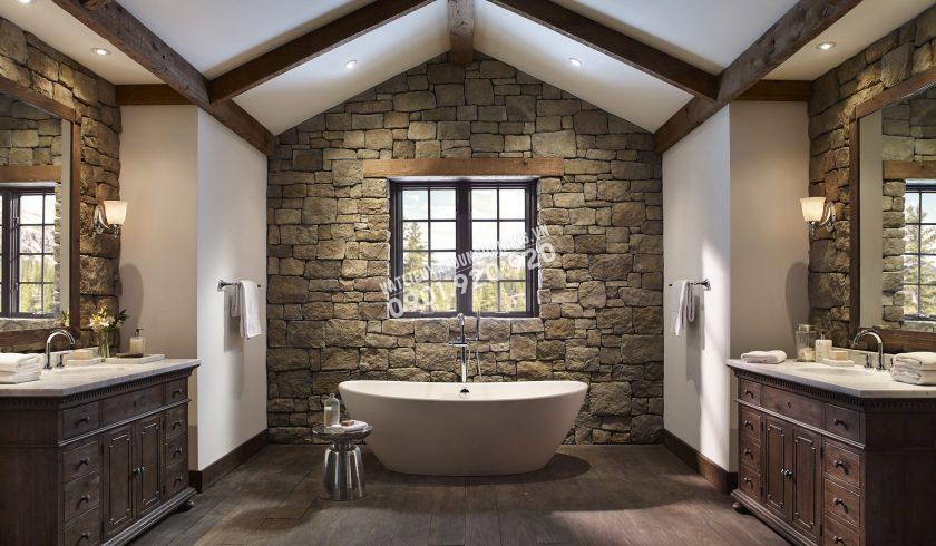 đá ốp tường phòng tắm