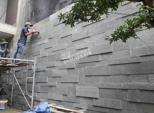 đá sa thạch ốp tường