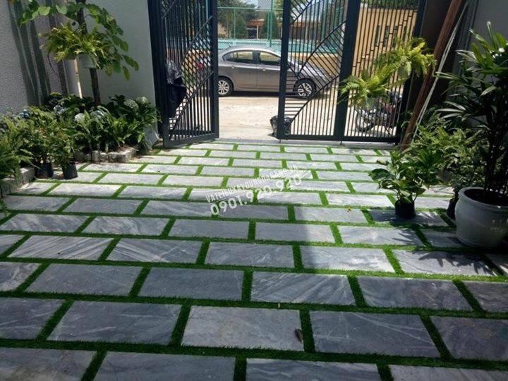 mẫu đá lát sân vườn đẹp